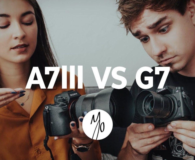 KAMERA za 3 000 zł VS za 15 000 zł! – Wielka bitwa Sony A7 III i Panasonic Lumix G7!